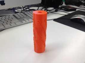 滚漆筒 3D模型