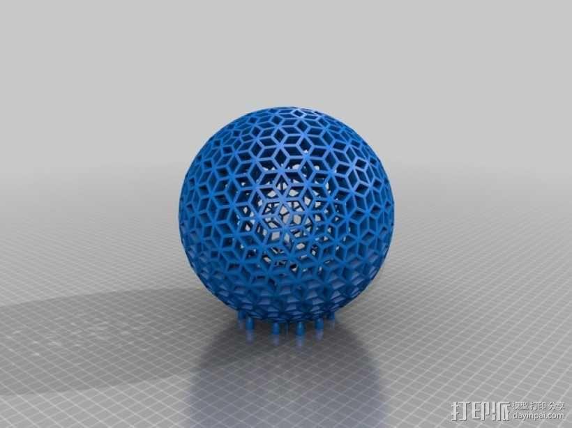 曲棍球 3D模型  图4