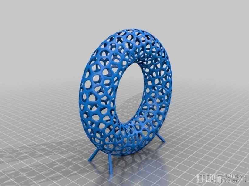 甜甜圈 3D模型  图2