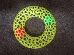 甜甜圈 3D模型