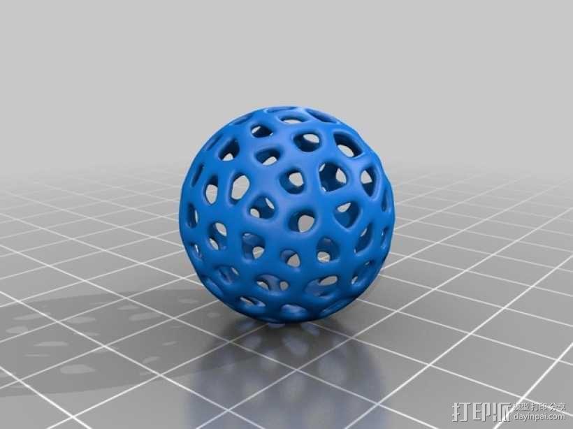 甜甜圈 3D模型  图3