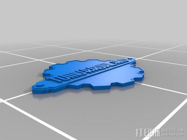 明日之地 标牌 3D模型  图2