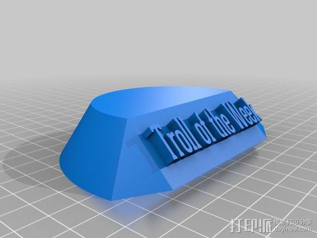 巨魔雕塑 3D模型  图4