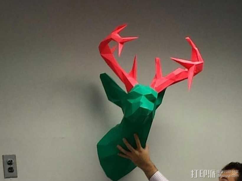 驯鹿头 模型 3D模型  图1