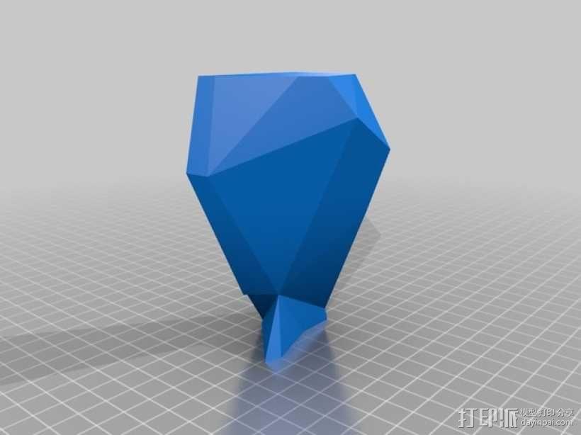 驯鹿头 模型 3D模型  图36