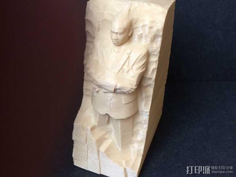 马丁路德金纪念碑模型 3D模型  图3