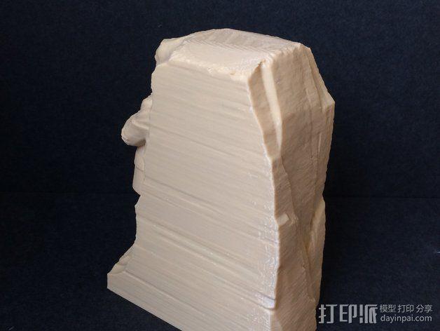 马丁路德金纪念碑模型 3D模型  图4