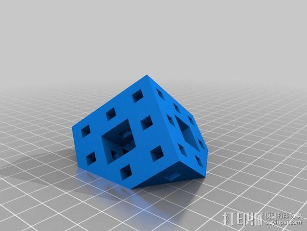 门格尔海绵模型 3D模型  图5