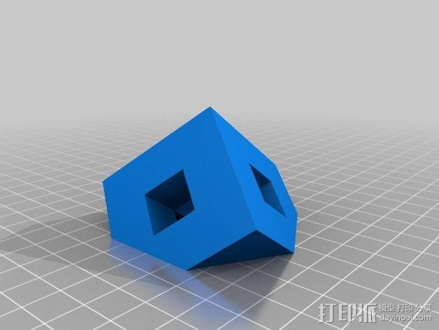 门格尔海绵模型 3D模型  图4