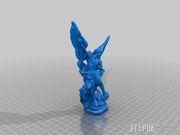 大天使米迦勒 模型 3D模型  图2