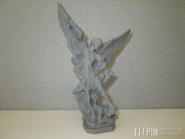 大天使米迦勒 模型 3D模型  图4