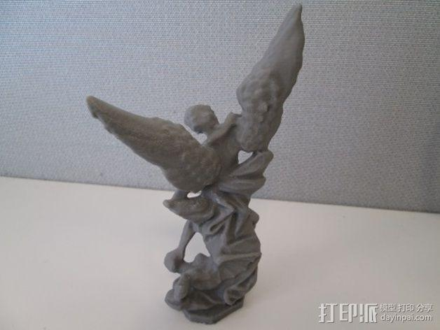 大天使米迦勒 模型 3D模型  图5