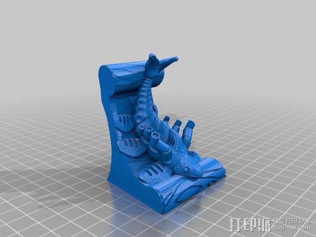鱼 模型 3D模型  图3