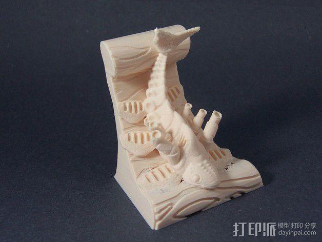 鱼 模型 3D模型  图2