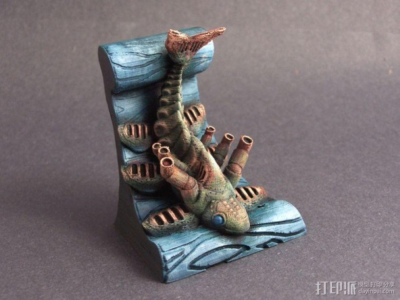 鱼 模型 3D模型  图1