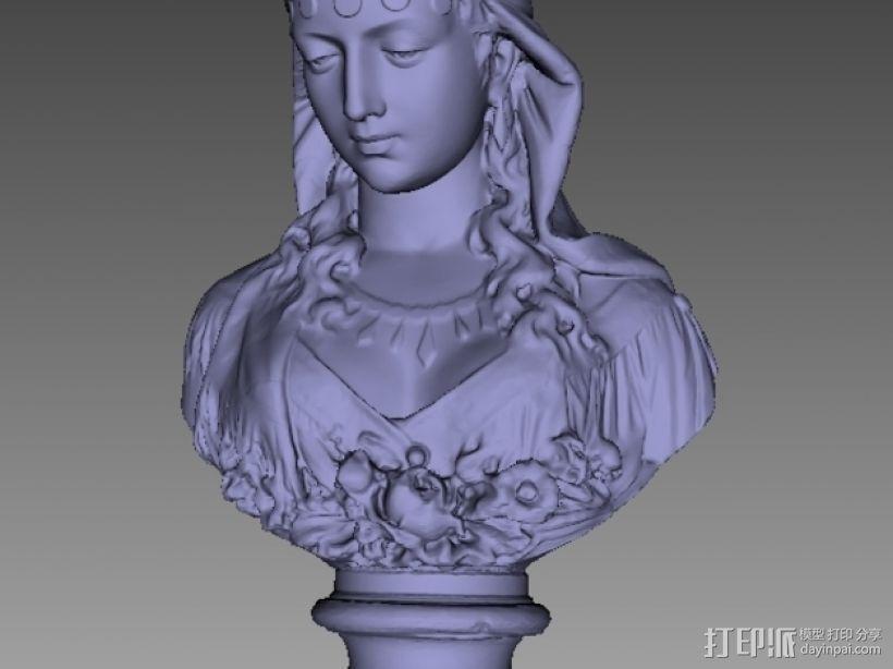 吉普赛女郎 3D模型  图2