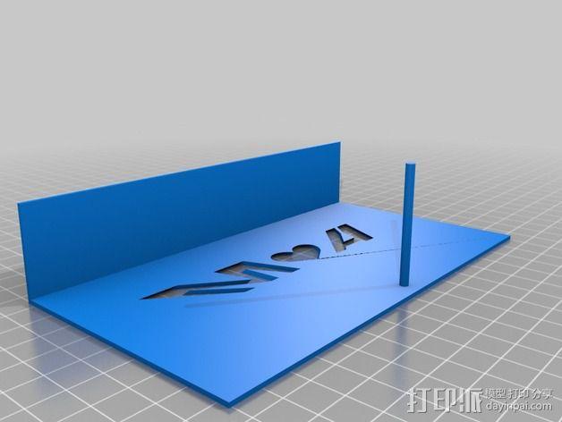 投影板 3D模型  图3