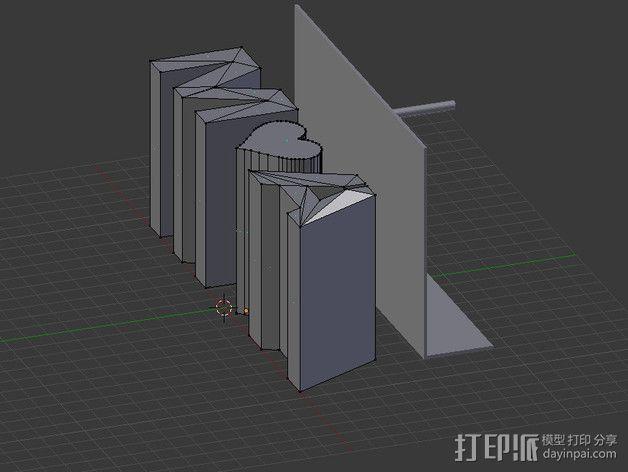 投影板 3D模型  图5