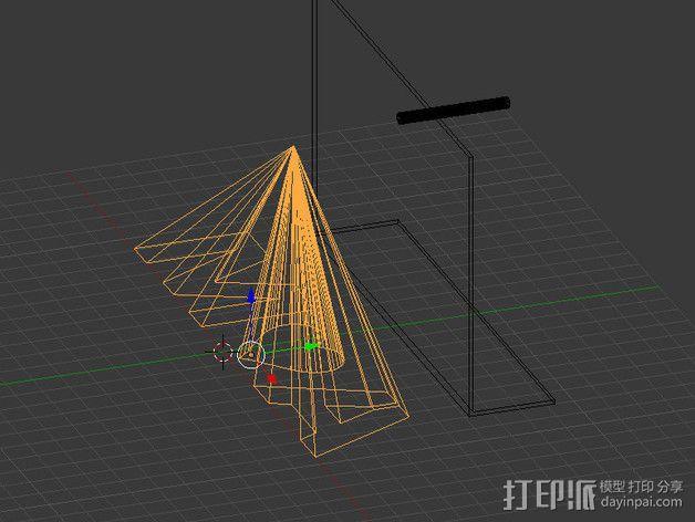 投影板 3D模型  图6