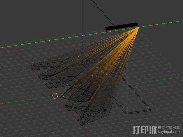 投影板 3D模型  图7