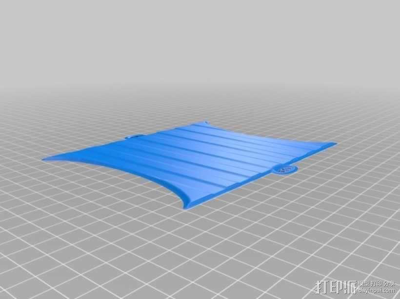 维京龙舟 3D模型  图3