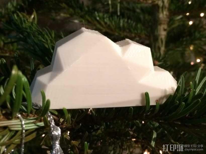 低面数云 3D模型  图1