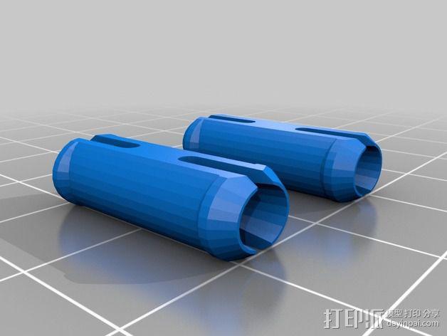 齿轮方块挂件  3D模型  图2