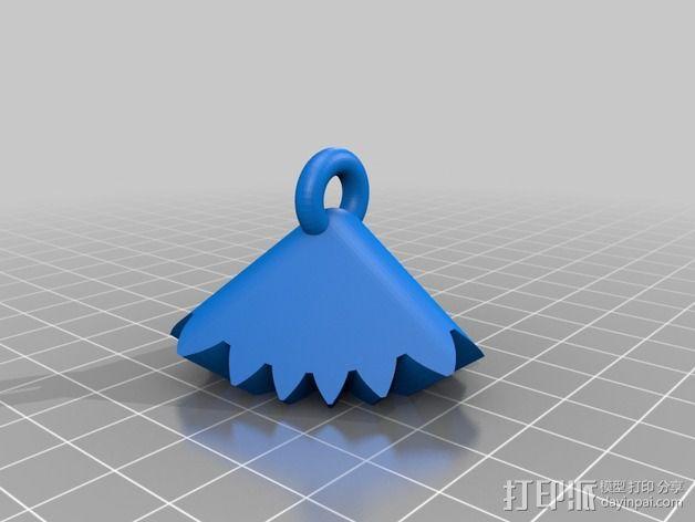 齿轮方块挂件  3D模型  图6