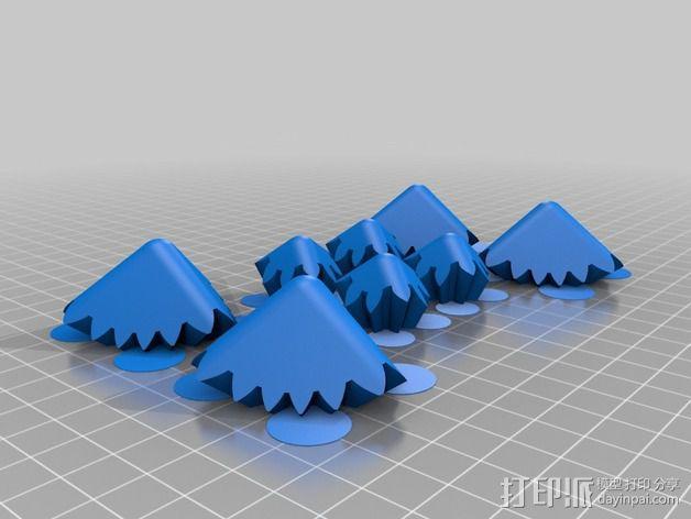 齿轮方块挂件  3D模型  图7
