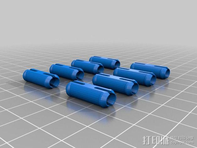 齿轮方块挂件  3D模型  图10