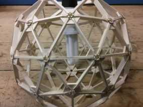 几何镂空灯罩 3D模型