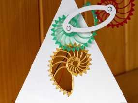 鹦鹉螺齿轮 3D模型