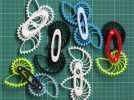 鹦鹉螺齿轮(带连杆) 3D模型 图1