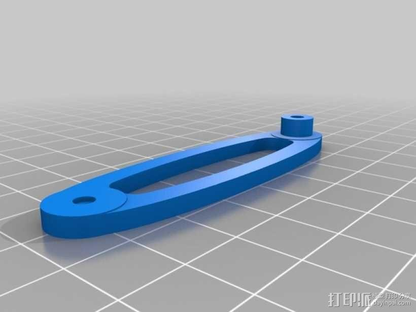 鹦鹉螺齿轮(带连杆) 3D模型  图9