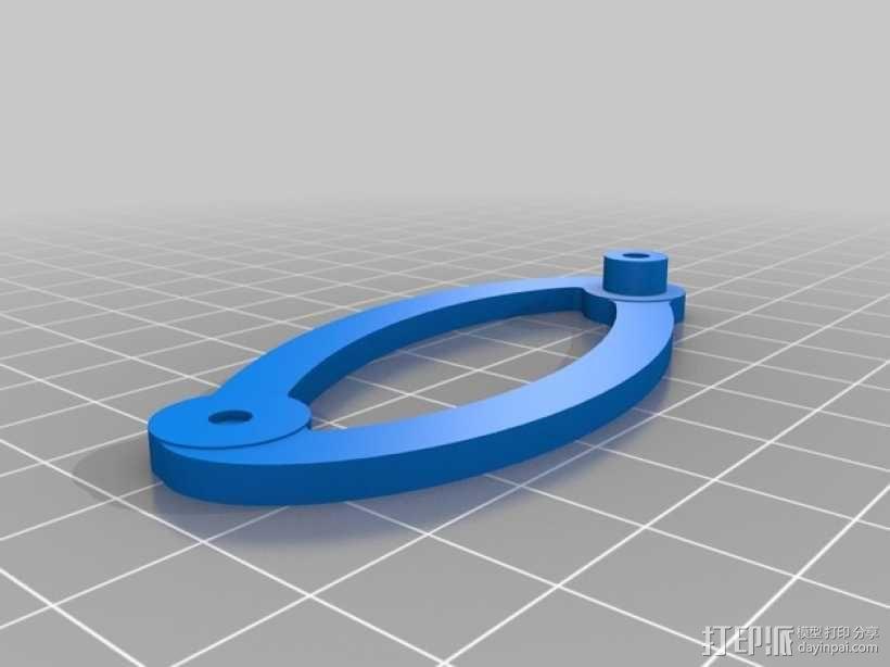 鹦鹉螺齿轮(带连杆) 3D模型  图10