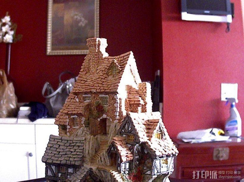 岩石屋 模型 3D模型  图1