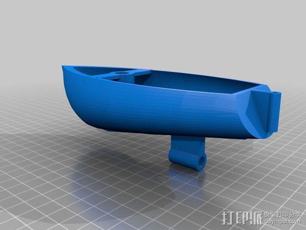 帆船模型 3D模型  图2