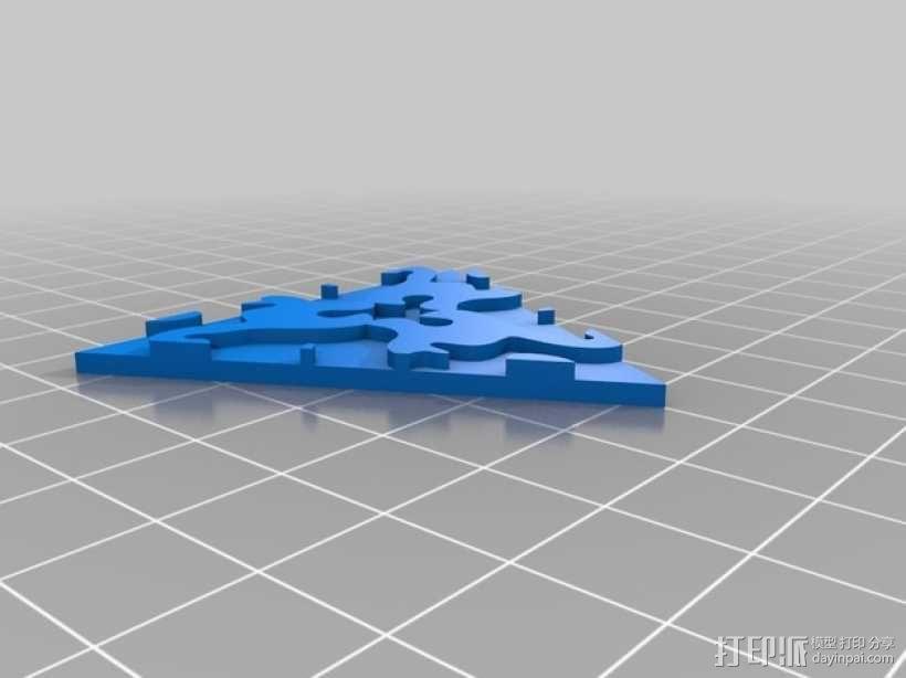 小猫多边形方块 3D模型  图10