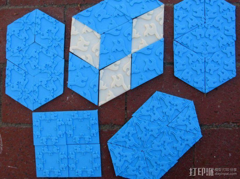 小猫多边形方块 3D模型  图12