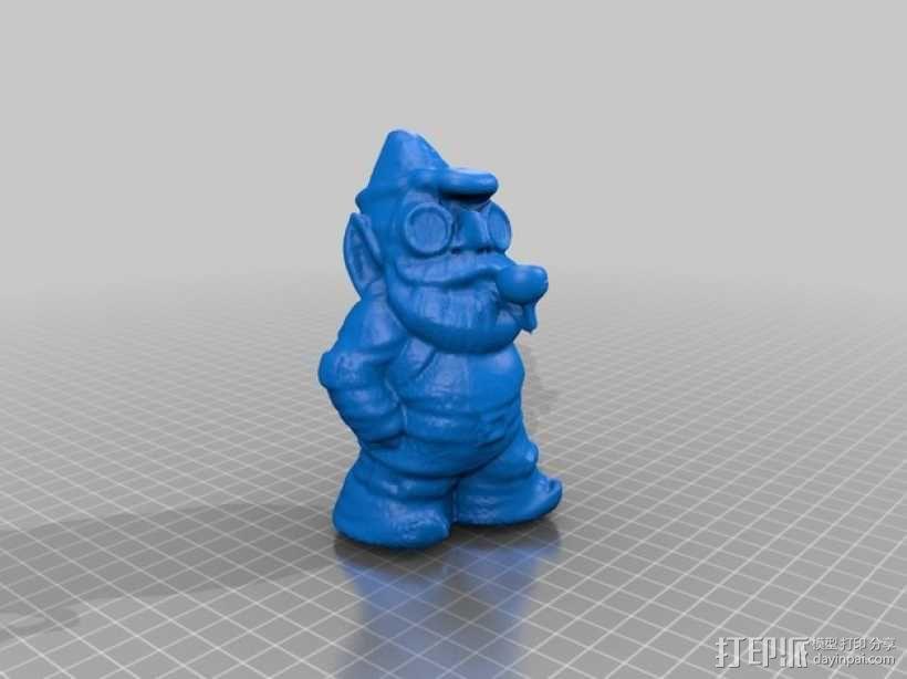 小矮人夏洛克 模型 3D模型  图2