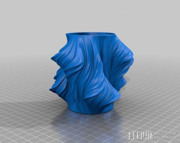 Julia 花瓶 3D模型  图3