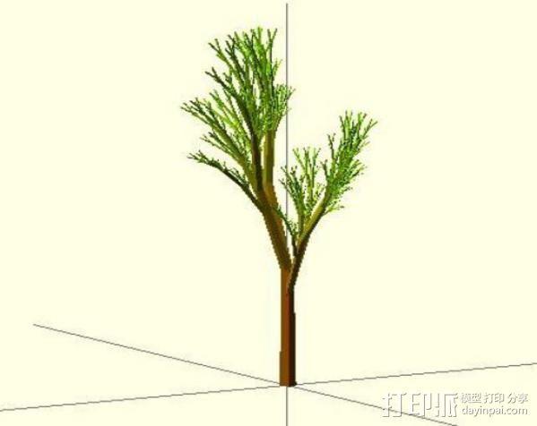 树 模型 3D模型  图5