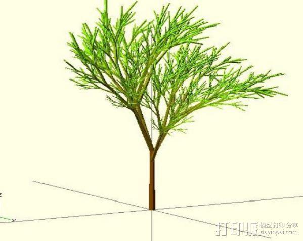 树 模型 3D模型  图4