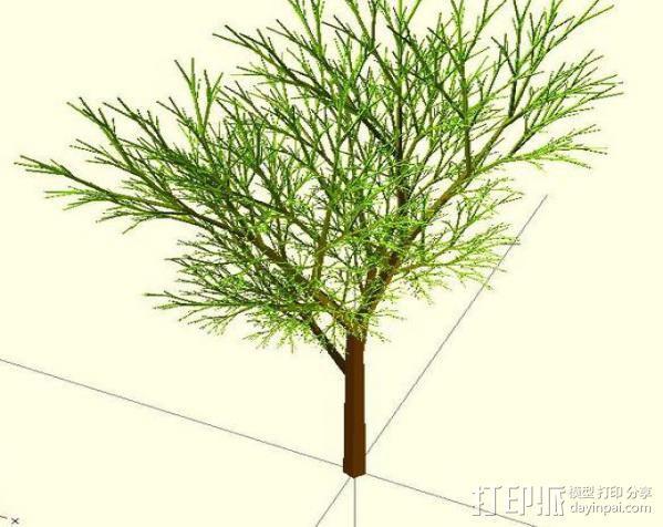 树 模型 3D模型  图9