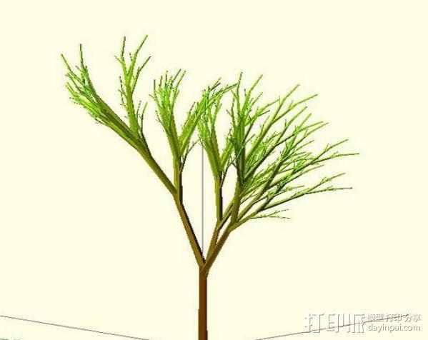 树 模型 3D模型  图7