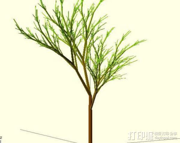 树 模型 3D模型  图10
