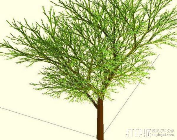 树 模型 3D模型  图11