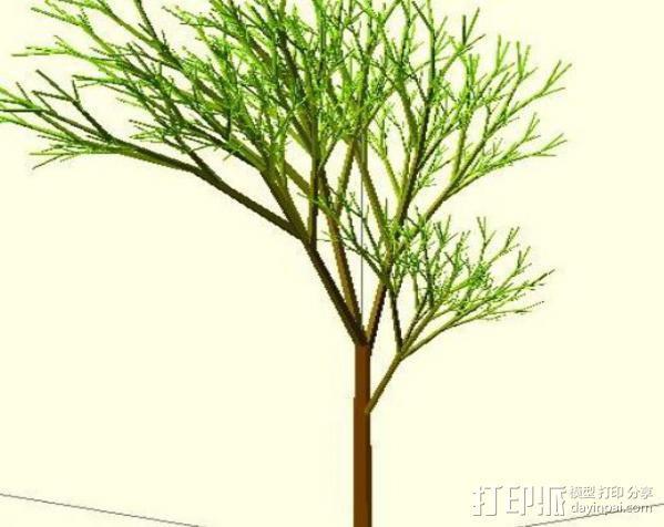树 模型 3D模型  图12