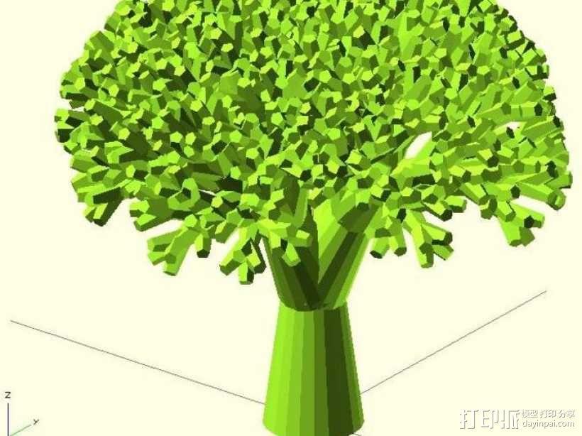 递归树 树模型 3D模型  图5
