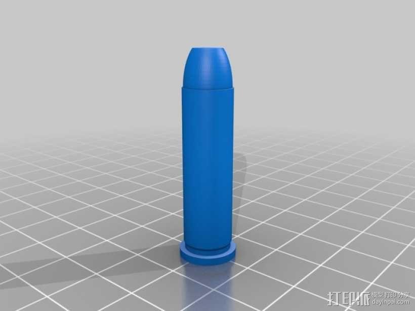 参数化子弹模型 3D模型  图1